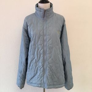 The North Face Light Blue Quilt Jacket Size Large